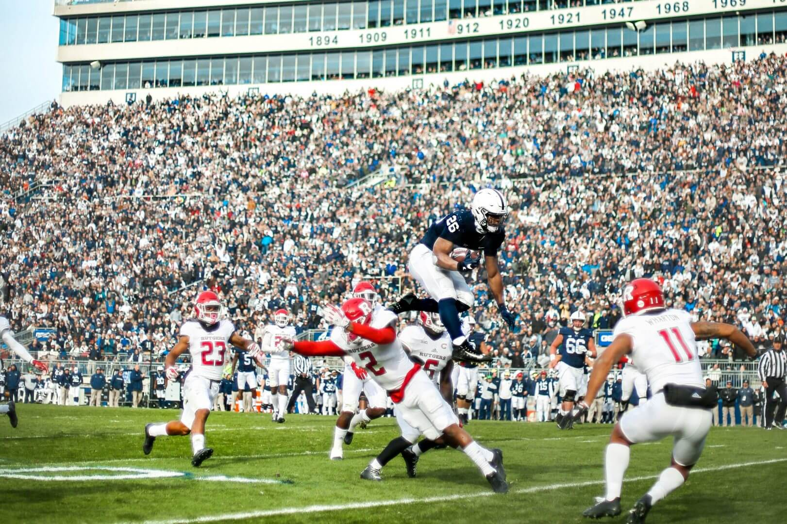 cropped Football events penn state homecoming